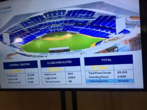 Rays2020 Stadium Seating Numbers