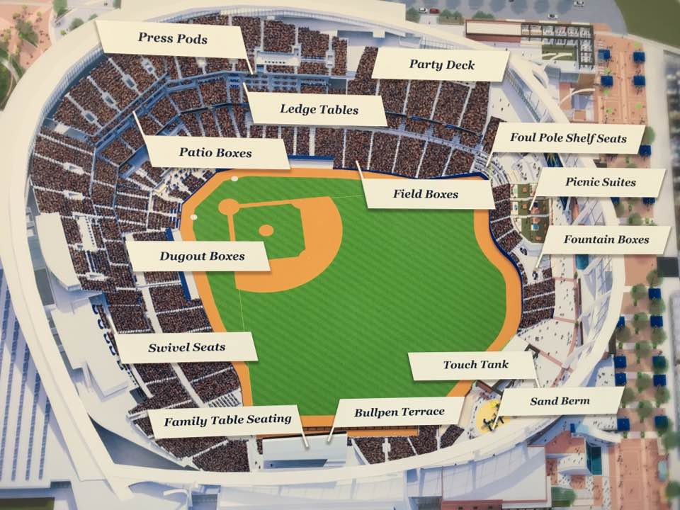 Rays2020 Stadium Seating